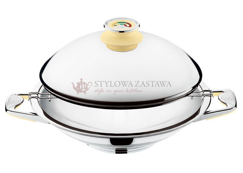 Naczynie WOK Zepter 3,0L ; 30 cm z pokrywa - StylowaZastawa.pl ...