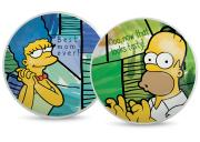 Zestaw 2 talerzy pizza Homer & Marge The Simpsons Egan